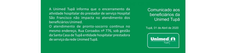 Encerramento Hospital Sao Francisco