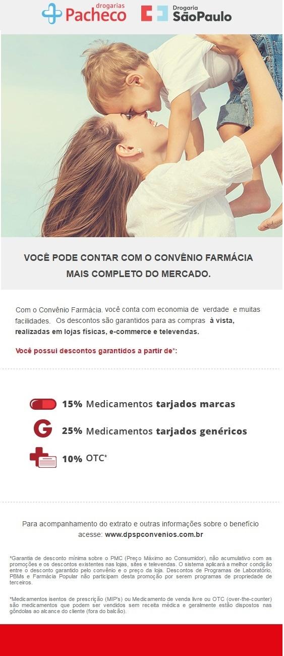 Convênio Drogaria São Paulo